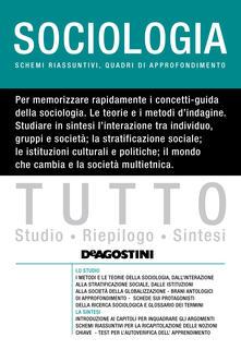 Tutto sociologia - Lucia De Martis - ebook