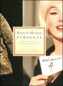 Camfeed.it Marilyn Monroe. Personal. Inediti dall'archivio privato dell'attrice Image