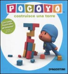 Pocoyo costruisce una torre - Aurora Gómez - copertina