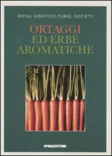 Ortaggi ed erbe aromatiche - copertina
