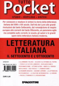 Libro Tutto letteratura italiana. Il Settecento e l'Ottocento