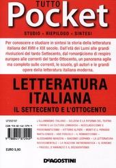 Tutto letteratura italiana. Il Settecento e l'Ottocento