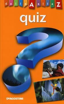 Winniearcher.com Quiz. Dalla A alla Z Image