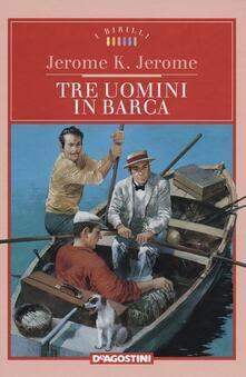 Antondemarirreguera.es Tre uomini in barca Image