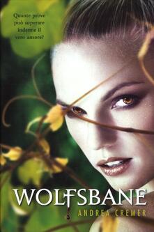 Wolfsbane - Andrea Cremer - copertina