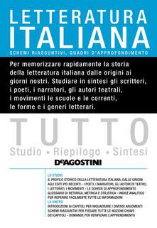 Tutto letteratura italiana - Marcello Tomei - ebook