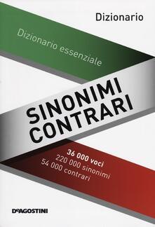 Criticalwinenotav.it Sinonimi e contrari. Dizionario essenziale Image