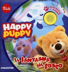 Antondemarirreguera.es Il fantasma del bosco. Happy Puppy. Libro sonoro Image