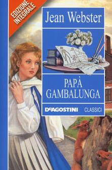 Promoartpalermo.it Papà Gambalunga. Ediz. integrale Image