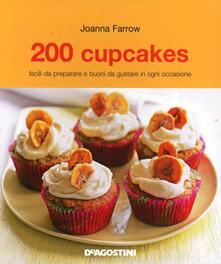 200 cupcakes - Joanna Farrow - copertina