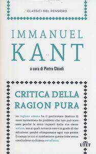 Libro Critica della ragion pura Immanuel Kant