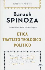 Libro Etica-Trattato teologico-politico Baruch Spinoza