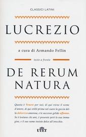 De rerum natura. Testo latino a fronte