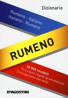 Dizionario rumeno. Rumeno-italiano, italiano-rumeno - George Lazarescu - copertina