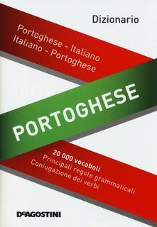 Dizionario portoghese. Portoghese-italiano, italiano-portoghese - copertina