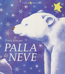 Palla di neve - Piers Harper - copertina