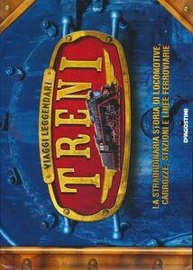 Foto Cover di Treni. Viaggi leggendari, Libro di  edito da De Agostini