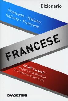 Dizionario francese. Francese-italiano, italiano-francese - copertina