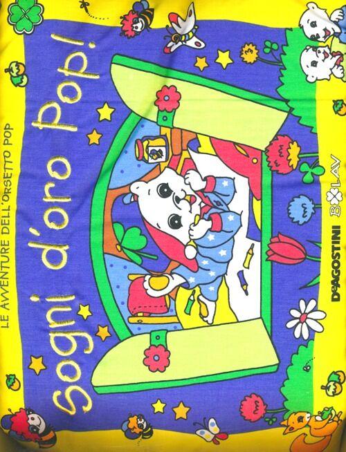 Sogni d'oro Pop! Libro cuscino