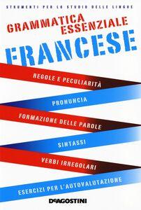 Foto Cover di Grammatica essenziale. Francese, Libro di  edito da De Agostini