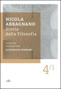 Storia della filosofia. Vol. 4\1: La filosofia contemporanea.