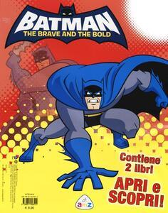 Batman. The brave and the bold: Supereroe. Armi, mosse, poteri-Libro puzzle. Ediz. illustrata