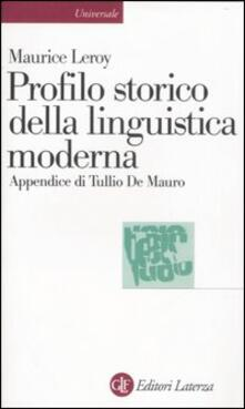 Ristorantezintonio.it Profilo storico della linguistica moderna Image