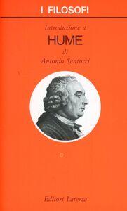 Libro Introduzione a Hume Antonio Santucci