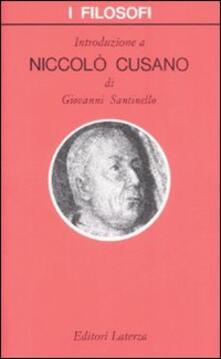 Promoartpalermo.it Introduzione a Niccolò Cusano Image