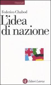 Libro L' idea di nazione Federico Chabod
