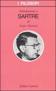 Libro Introduzione a Sartre Sergio Moravia