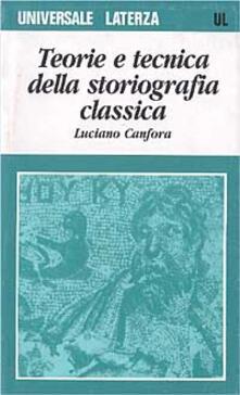 Antondemarirreguera.es Teoria e tecnica della storiografia classica Image