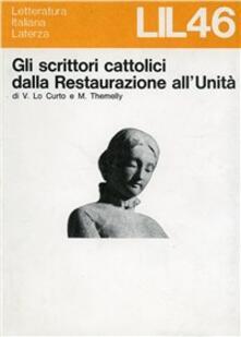 Secchiarapita.it Gli scrittori cattolici dalla restaurazione all'unità Image