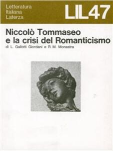 Niccolò Tommaseo e la crisi del Romanticismo