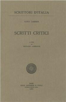Secchiarapita.it Scritti critici Image