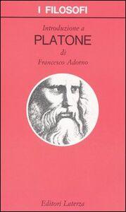 Libro Introduzione a Platone Francesco Adorno