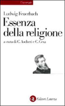 Essenza della religione - Ludwig Feuerbach - copertina