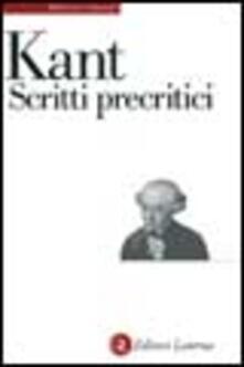 Grandtoureventi.it Scritti precritici Image