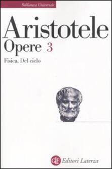 Osteriacasadimare.it Opere. Vol. 3: Fisica-Del cielo. Image