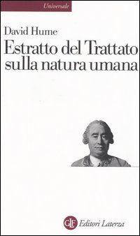 Estratto del Trattato sulla natura umana