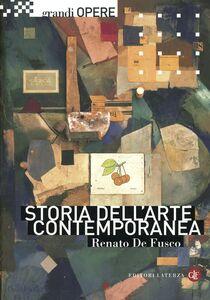 Libro Storia dell'arte contemporanea Renato De Fusco