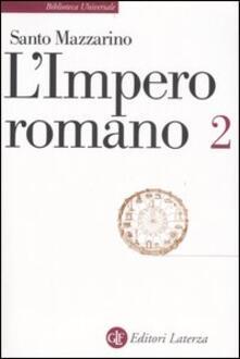Librisulladiversita.it L' impero romano. Vol. 2 Image