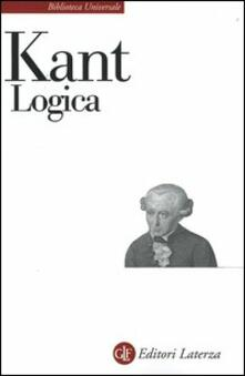 Logica - Immanuel Kant - copertina