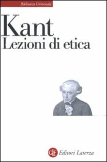 Lezioni di etica - Immanuel Kant - copertina