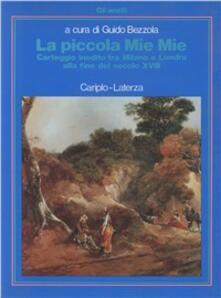La piccola Mie Mie. Carteggio inedito tra Milano e Londra alla fine del secolo XVIII.pdf