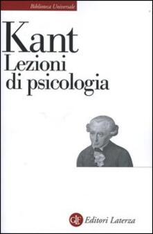 Lezioni di psicologia - Immanuel Kant - copertina