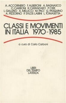 Fondazionesergioperlamusica.it Classi e movimenti in Italia (1970-1985) Image