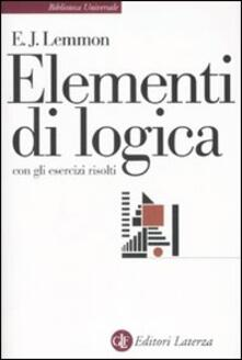 Fondazionesergioperlamusica.it Elementi di logica. Con gli esercizi risolti Image