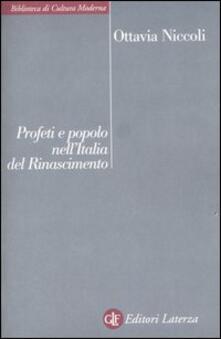 Daddyswing.es Profeti e popolo nell'Italia del Rinascimento Image