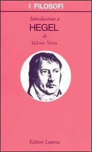 Libro Introduzione a Hegel Valerio Verra
